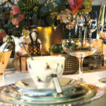 General shot of formal table setting
